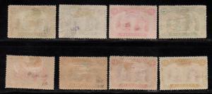 $Rhodesia Sc#101b//110 used+M/H/F-VF, part set, 108 hinge thin, Cv. $393