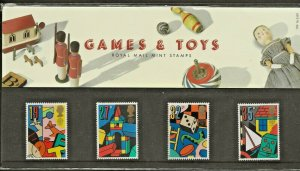 1989 GAMES AND TOYS  PRESENTATION PACK 199
