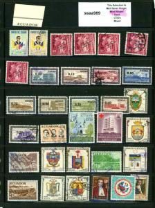 PKStamps - ssaa989 - Ecuador - Mini Lot - Check Out Image