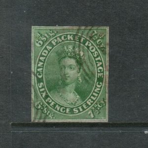 Canada #9 Used Fine - Very Fine With Rich Color