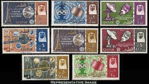Qatar Scott 61-68 Mint never hinged.