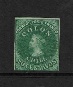 Chile SC# 13 Mint No Gum - S7337