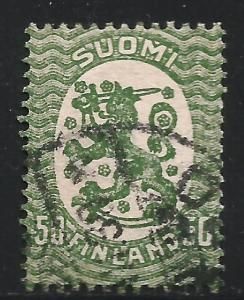 Finland 1928 Scott# 144 Used