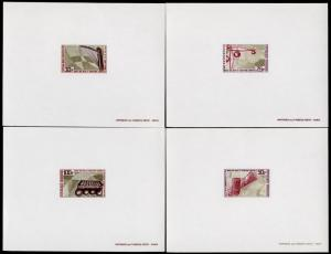 Gabon 240-3 Deluxe Sheets MNH Musical Instruments