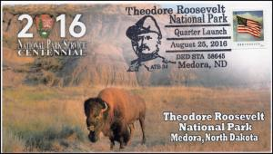 16-413, 2016, Theodore Roosevelt National Park, Pictorial, Quarter Launch