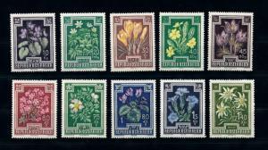 [78861] Austria Österreich 1948 Flora Flowering Plants  MNH