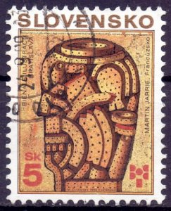 Slovakia. 1999. 346. Illustration. USED.