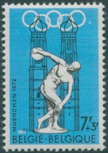 Belgium 1971 SG2231 7f+3f Olympic Games MNH