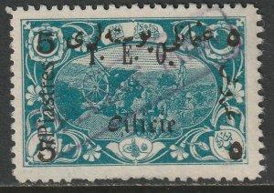 Cilicia 1919 Sc 86 used Pleine Mer ship cancel