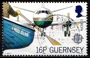 Guernsey 1987 SG. 421 used (10829)