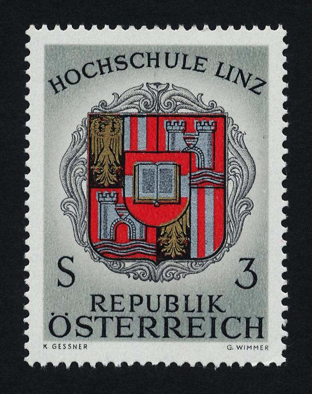 Austria 784 MNH Coat of Arms, Crest