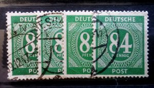 Germany Kontrollrat 336 abcd used