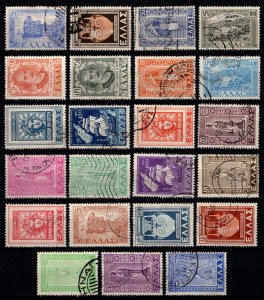 Greece 1947 Restoration of Dodecanese Is., Set [Used]