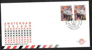 Netherlands 1975  FDC 138 Anniversaries