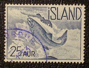 Iceland Scott #319 used