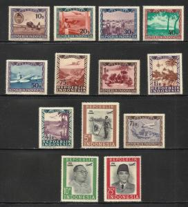 Indonesia Air Mail 1948 Scott# C1-C13 MNH