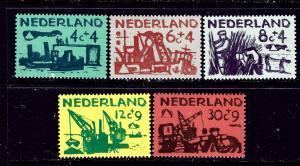 Netherlands B331-35 MNH 1959 complete set