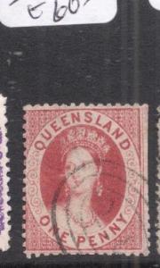 Queensland SG 12 VFU (1djx)