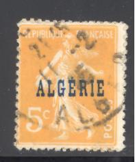Algeria Sc # 3 mint hingd (RS)