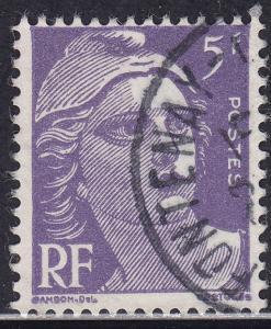France 650 USED 1951 Marianne 5Fr