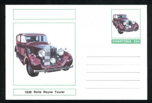 A Rolls Royce postcard 25   m    Mint  PD