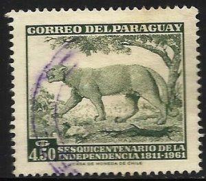 Paraguay 1961 Scott# 596 Used