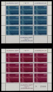 Yugoslavia 1052-3 sheets MNH EUROPA