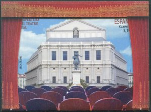 HERRICKSTAMP NEW ISSUES SPAIN Sc.# 4184 Reopening of the Royal Theater