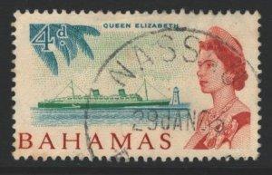 Bahamas Sc#209 Used