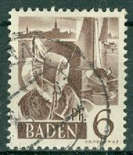 Germany - French Occupation - Baden - Scott 5N15