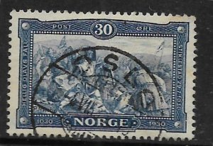 NORWAY 153 USED DEATH OF OLAF IN BATTLE OF STIKLESTAD