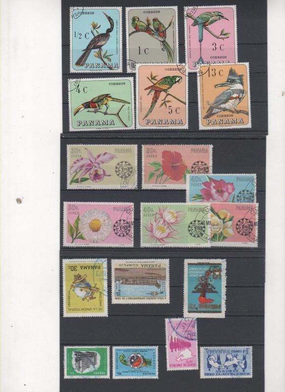 PANAMA STAMPS SHOW DEALER CLOSEOUT LOT 800 1217