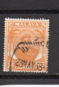 Malaya - Johore 131 used