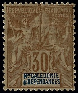 New Caledonia #52 Mint F-VF SCV$25...French Colonies are Hot!