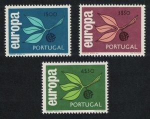 Portugal Europa CEPT 3v issue 1965 SG#1276-1278