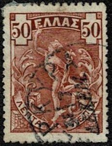 1901 Greece Scott Catalog Number 174 Used