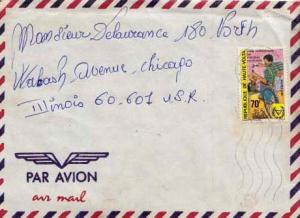 French West Africa, Airmail, Medical
