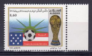 Algeria 1994 Sc#996 World Cup Soccer USA '94 (1) MNH