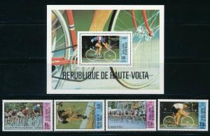 Burkina Faso - Moscow Olympic Games MNH Sports Set (1980)
