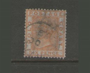 Gold Coast 1876 QV Sc 8 FU