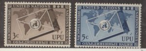 United Nations Scott #17-18 Stamps - Mint NH Set