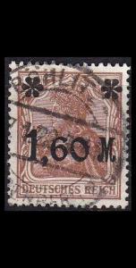 GERMANY REICH [1921] MiNr 0154 Ia ( O/used )