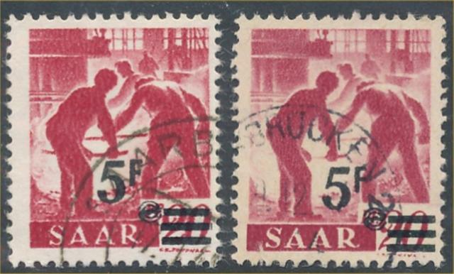 SAAR #181-181a USED VF SCOTT CATALOG $4,758.00