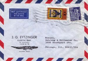 Germany, Airmail, Advertising, Reptiles