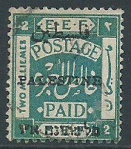 Palestine, Sc #16c, 2m Used