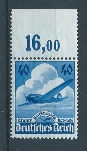 Germany 469 1936 10th Lufthansa single MNH