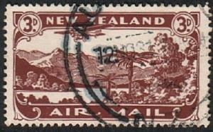 NEW ZEALAND 1931 3d airmail fine used - ACS cat NZ$25......................16589