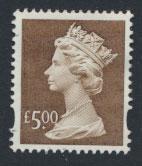 Great Britain SG Y1803 Machin £5   Used
