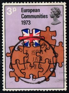 Great Britain #685 Entry in European Community; Used (0.25)