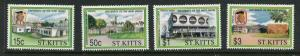 St Kitts #324-7 MNH